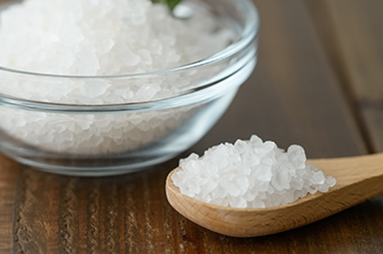 ヒマラヤ岩塩ホワイト(クリスタル)小粒
